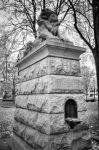 Lion of Belfort in Dorchester Square