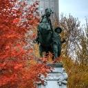 Boer War Memorial at Dorchester Square