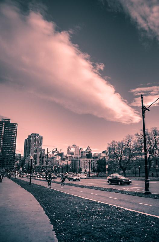 Cloud over ave du Parc
