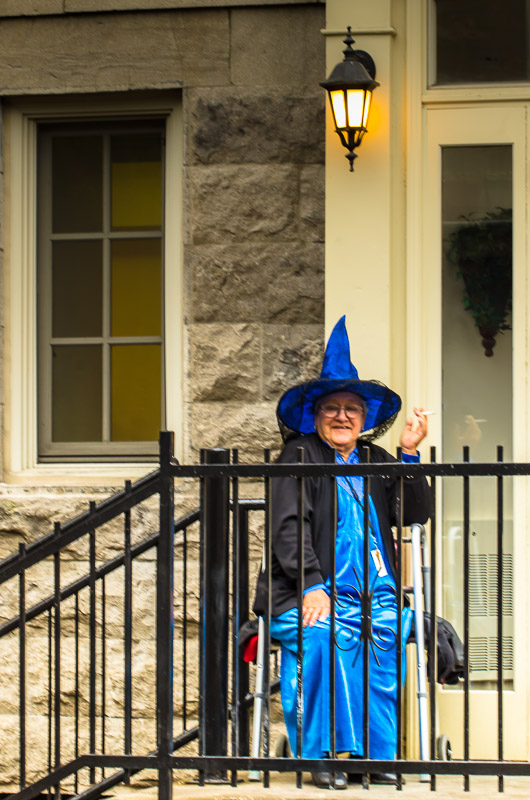 The Blue Witch of Le Plateau