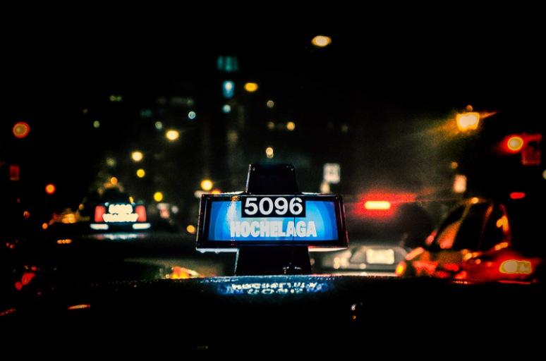 Taxi cab on rue Prince Arthur