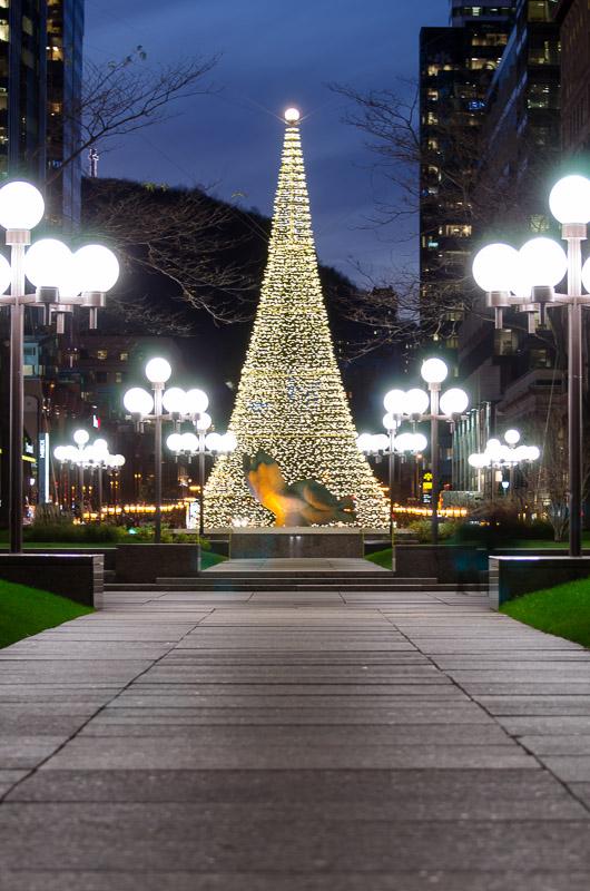 PVM Christmas tree