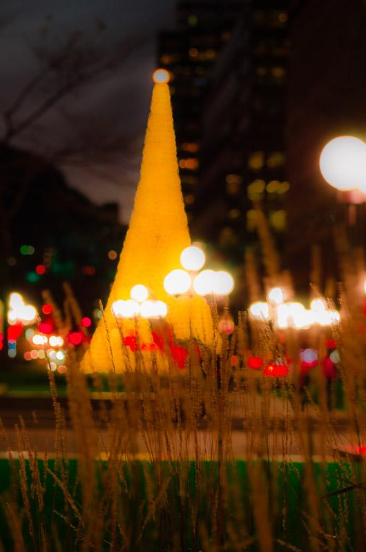 Artsy PVM Christmas tree
