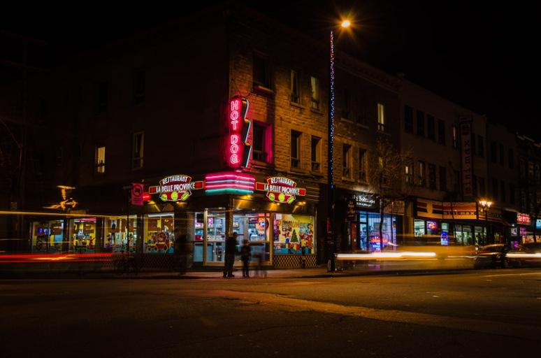 La Belle Province restaurant/diner