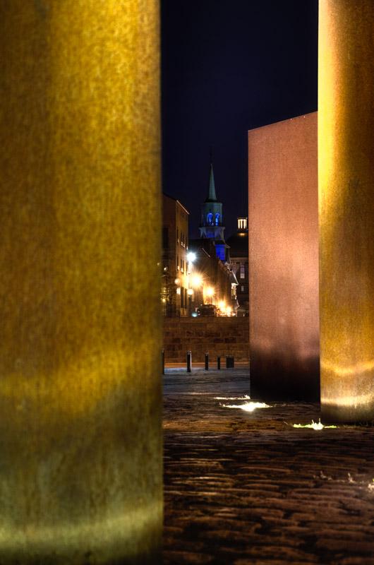 Notre Dame de Bonsecours from Faubourg Québec