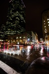 Corner of Sainte Catherine and ave McGill College