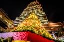 Christmas tree at the KPMG tower