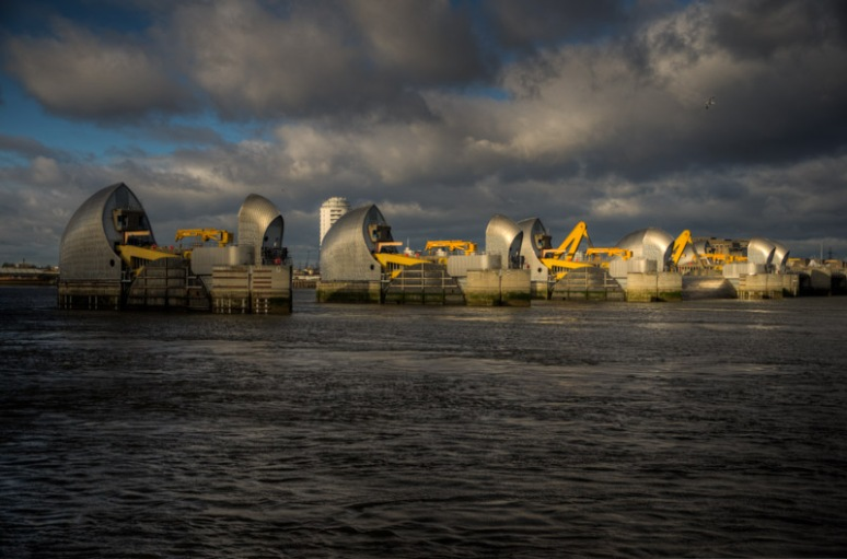 The Thames BarrierISO 320 - 32mm - f4.2 - 1/750 sec (-2ev/0/+2ev)