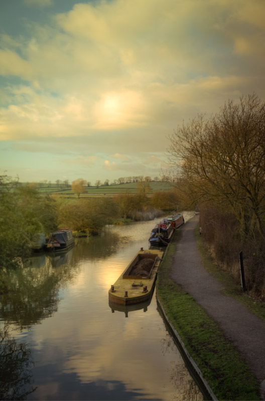The Grand Union Canal at Foxton