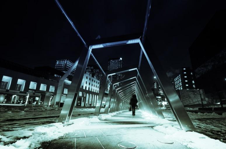 Lumino Thérapie Iceberg installation