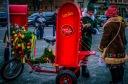 Santa's helper on avenue du Mont Royal