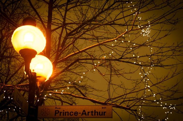 Prince Arthur Street Sign