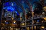 Notre Dame Basilica organ pipes