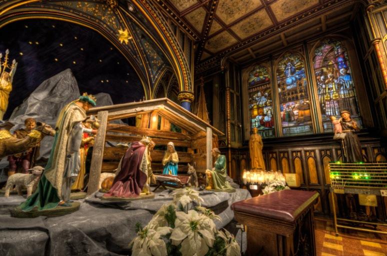 Notre Dame Basilica Crèche
