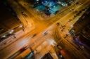 X roads under snow