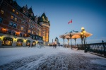 Le Chateau Frontenac on the Terrasse Duffferin