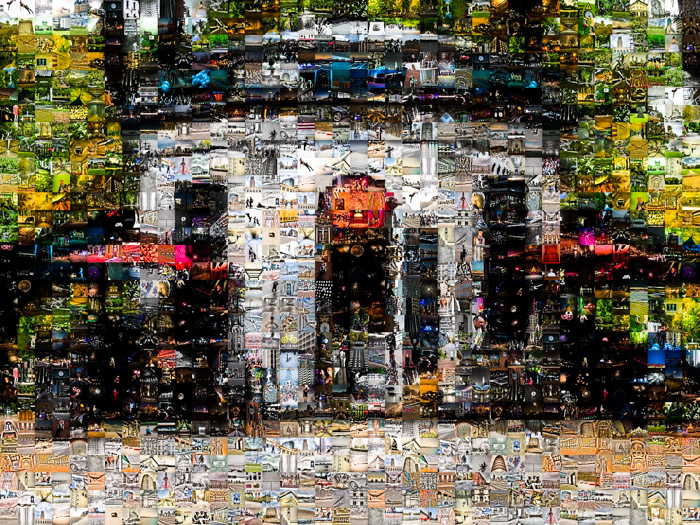 Square Saint Louis Mosaic