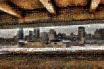 Montreal Skyline Mosaic