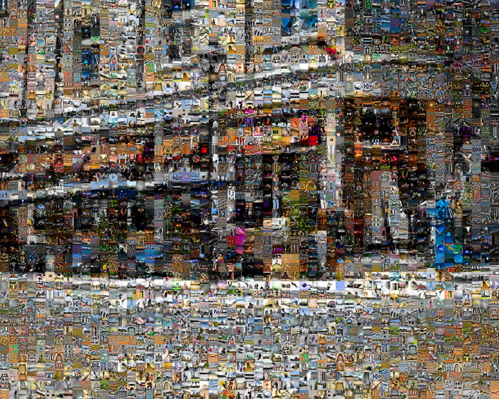 Restaurant on rue Saint Paul Mosaic